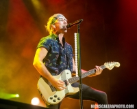 All Time Low singer Alex Gaskarth performs on the Sands Steel Stage at PNC Plaza during Musikfest on Saturday, August 11, 2018.