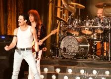 """Joesph Russo as """"Freddie Mercury"""" and Steve Leonard as """"Brian May"""""""