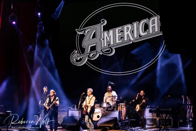 Gerry Beckley and Dewey Bunnell and the rock group America