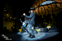 Dirty Honey performs at the PNC Bank Art Center on September 18, 2021 in Holmdel, NJ.