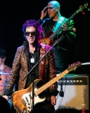 Earl Slick with Carmine Rojas in background