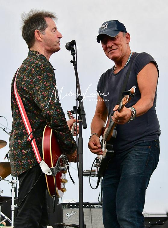 Garry Tallent and Bruce Springsteen