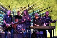Michael Zweig, drummer Sean Fitzsimons, Nick Sinopoli, Burton and Jeff Jones on Bass