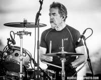 """Doug """"Cosmo"""" Clifford performs with Creedence Clearwater Revisited, who closed out this year's QuickChek New Jersey Festival of Ballooning concert series on Sunday, July 29, 2018."""