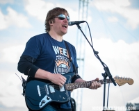 Dan McGuinness performs with Creedence Clearwater Revisited, who closed out this year's QuickChek New Jersey Festival of Ballooning concert series on Sunday, July 29, 2018.