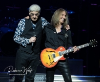 Dennis DeYoung and August Zadra