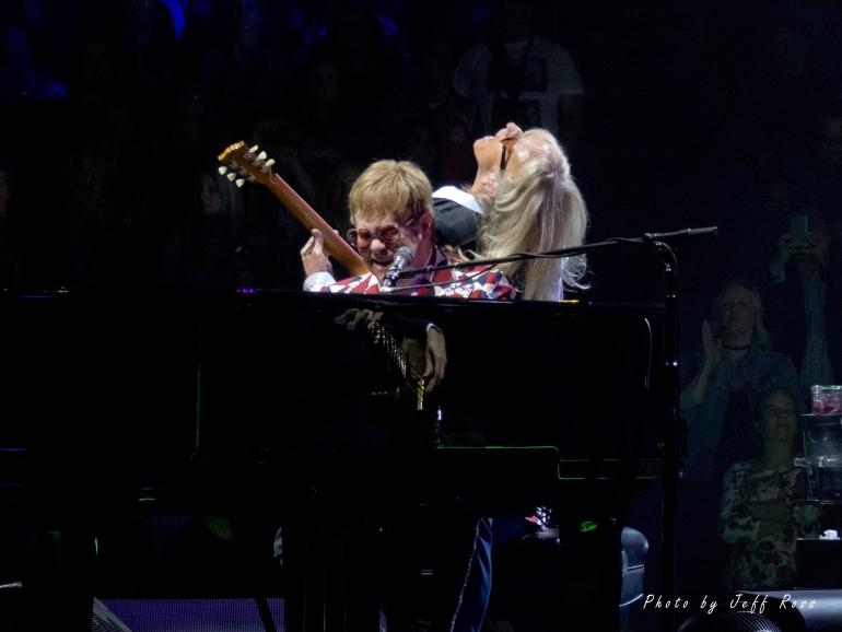 Elton John and Davey Johnstone.