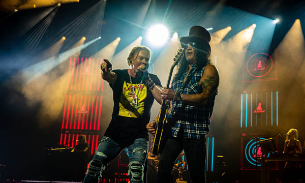 Axl Rose and Slash Guns N Roses  By Tony Andolfi