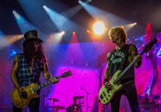 Slash and Axl Rose Guns N Roses  By Tony Andolfi