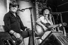 Bill Chambers and Kasey Chambers