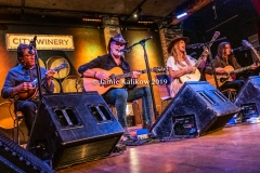 Kasey Chambers and her band
