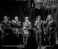 Vocalist, Lena Prima; Lawrence Sieberth, piano & arranger; Tim Fahey, bass; Michael Hashim, saxophone; Andy Gravish, trumpet; David Gibson, trombone; Daniel Glass, drums