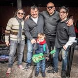 L-R—>Adrian Rallap, Claudio Javier Aguero, Jose Ernesto Escobar y Karl Wünsche with Bautista Rodriguez in front!