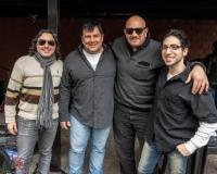 L-R—>Adrian Rallap, Claudio Javier Aguero, Jose Ernesto Escobar y Karl Wünsche