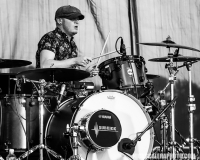 Lifehouse drummer Rick Woolstenhulme, Jr. performs with the legendary alternative rock band who headlined the QuickChek Festival of Ballooning live concert series on Saturday, July 28, 2018.