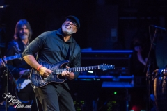 Bernie Williams performs at the Fifth Annual Love Rocks NYC benefit concert for God's Love We Deliver at the Beacon Theatre on June 3, 2021 in New York City.