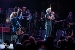 Jon Bon Jovi and Grace Potter perform at the Fifth Annual Love Rocks NYC benefit concert for God's Love We Deliver at the Beacon Theatre on June 3, 2021 in New York City.