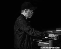 John Ginty performs on the Hammond B3 with the Matt O'Ree Band at The Stone Pony in Asbury Park, NJ.