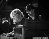 Bon Jovi keyboardist David Bryan and John Ginty on the Hammond B3 perform with the Matt O'Ree Band at The Stone Pony in Asbury Park, NJ.