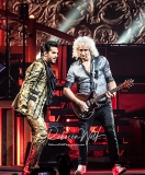 Brian May and Adam Lambert