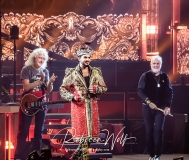 Brian May, Adam Lambert and Roger Taylor