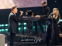 Don Henley and inductee Stevie Nicks