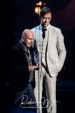 Inductees Philip Selway and Ed O'Brien of Radiohead