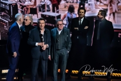 Inductees Phil Manzanera, Bryan Ferry, Andy Mackay and Eddie Jobson of Roxy Music