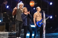 Brian May, Joe Elliot and Phil Collen