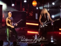 Inductees Phil Collen and Joe Elliot of Def Leppard
