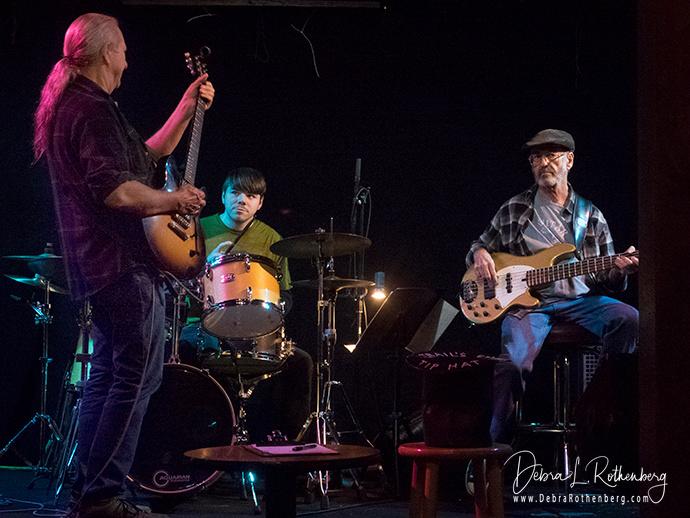 Paul Johnson (left),Nick Rothenberger (drums)