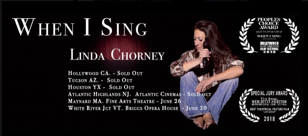 "Linda Chorney ""When I Sing"" Movie Premiere"