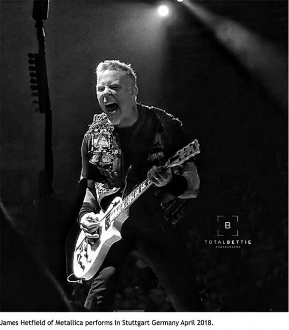 Metallica in Stuggart, Germany April 7 and 9th, 2018