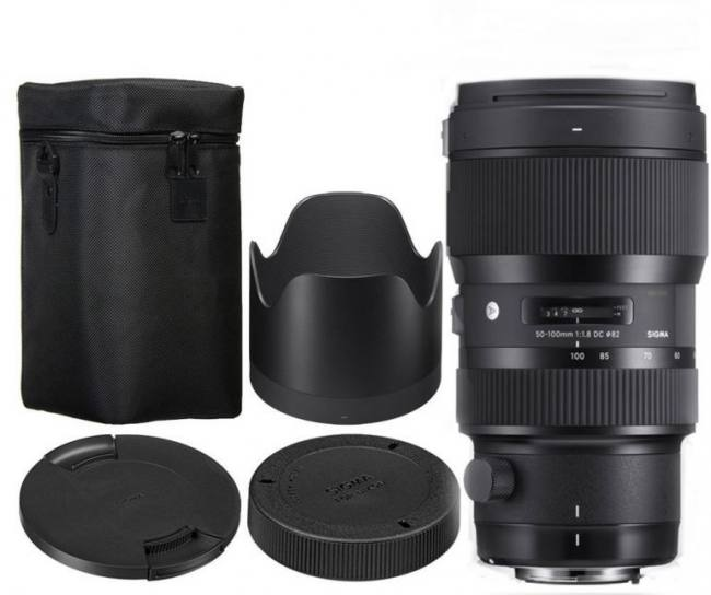 Sigma 18-35mm f/1.8 DC HSM Art Lens for Nikon F and Sigma 50-100mm f/1.8 DC HSM Art Lens for Nikon F