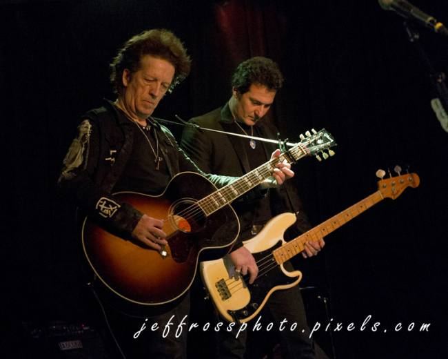 Willie Nile and Johnny Pisano