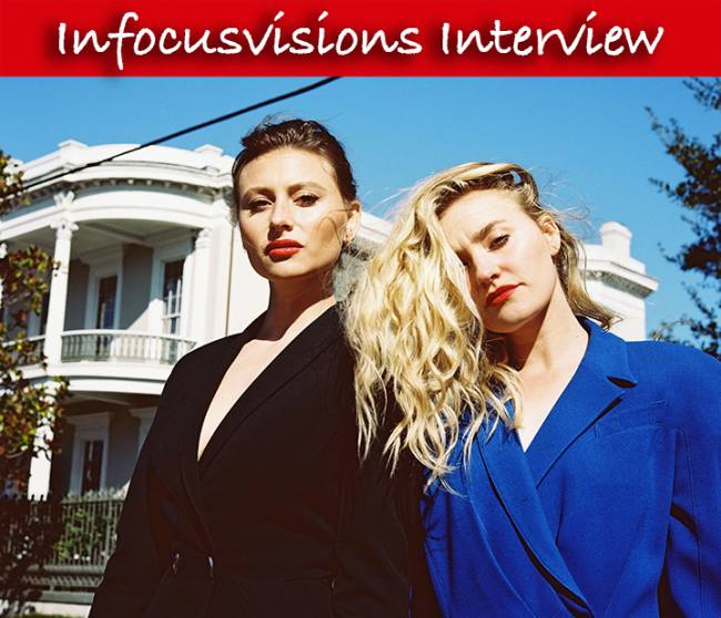 Aly & AJ Michalka – Interview