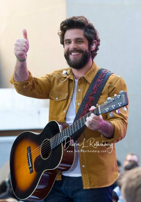 TODAY Show Concert Series with Thomas Rhett and Eli Young Band on Fox and Friends